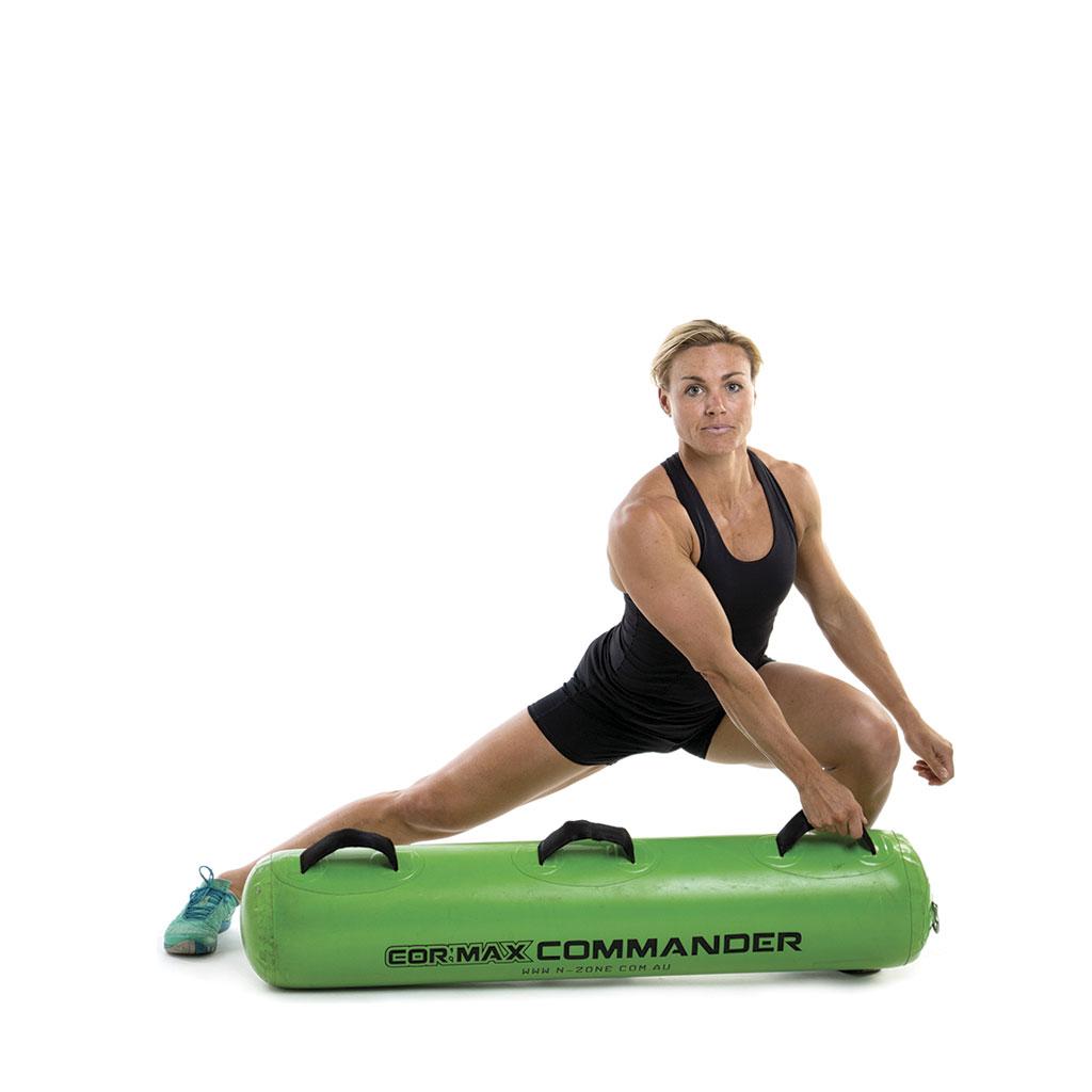 Ejercicios para fortalecer el core con Cormax Fitness Commander