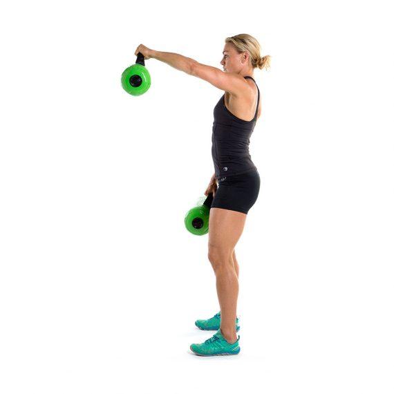 Uso de Cormax Fitness set de 2 granadas para el entrenamiento funcional en casa
